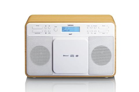 Radio mit DAB+/FM-Tuner, Bluetooth© USB, CD-Player, Aux-In, 2x3W RMS